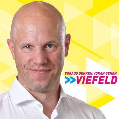 Marcus Viefeld: Voraus denken. Voran gehen.